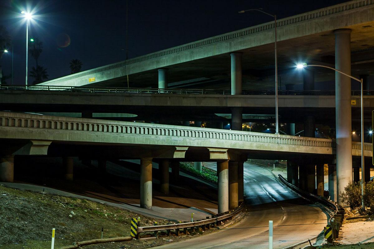 фотографии ночного Лос_Анджелеса-1