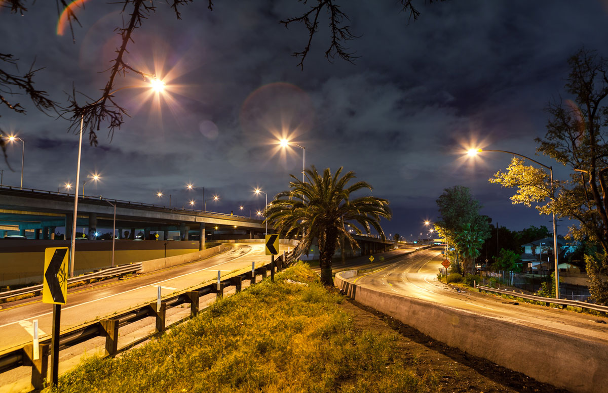 фотографии ночного Лос_Анджелеса-11