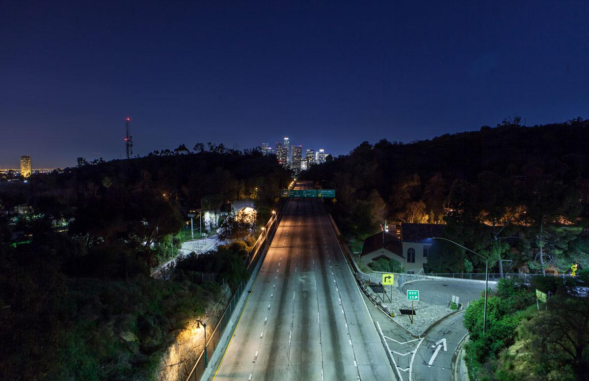 фотографии ночного Лос_Анджелеса-13