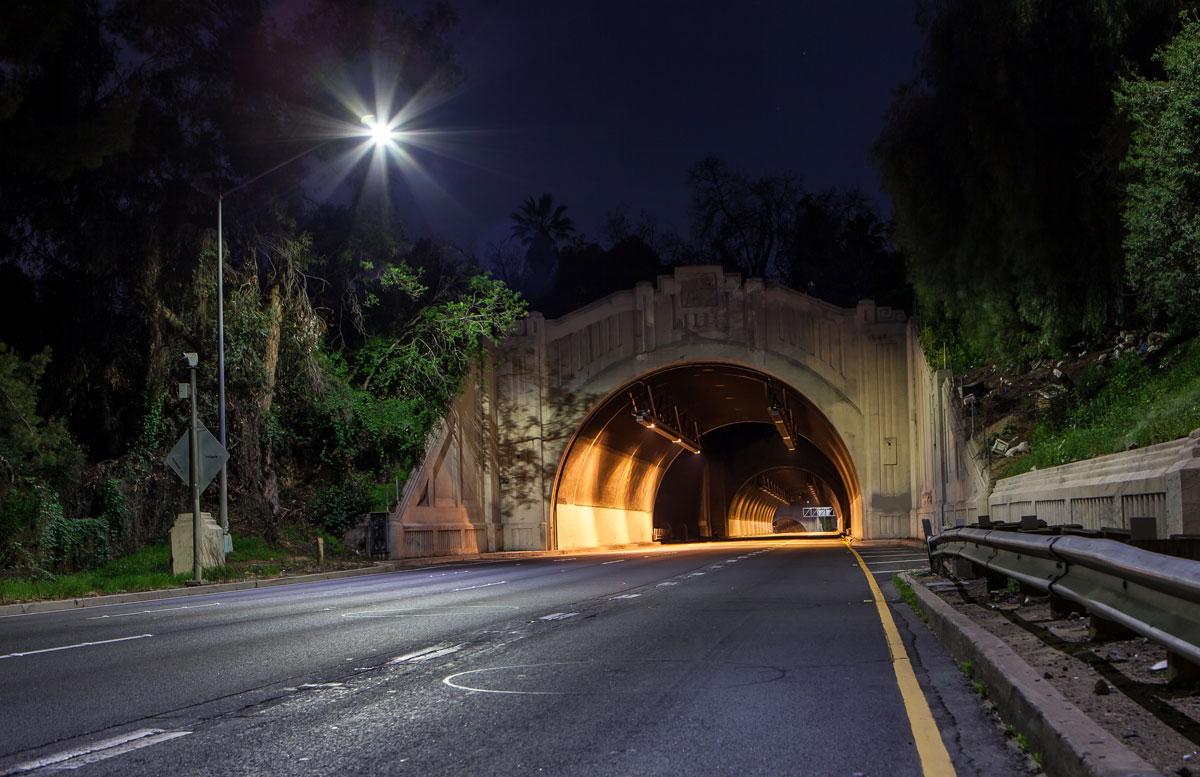 фотографии ночного Лос_Анджелеса-14