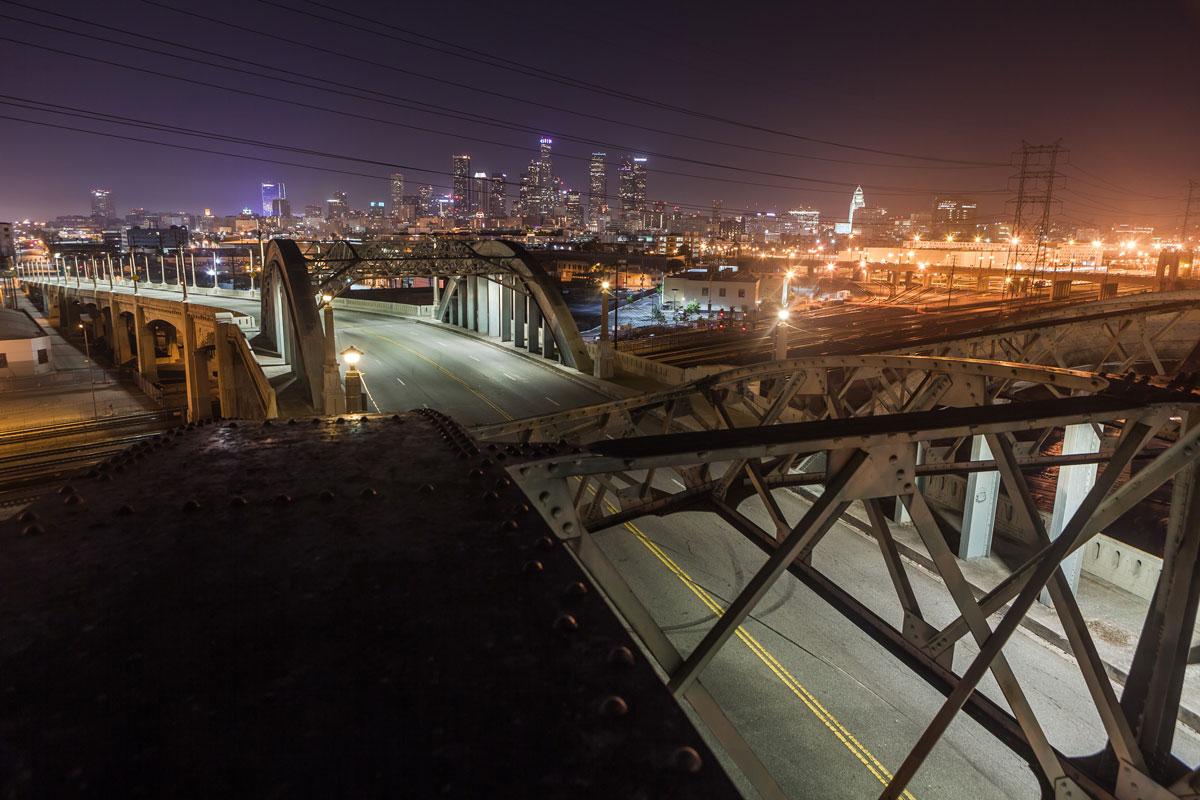 фотографии ночного Лос_Анджелеса-16