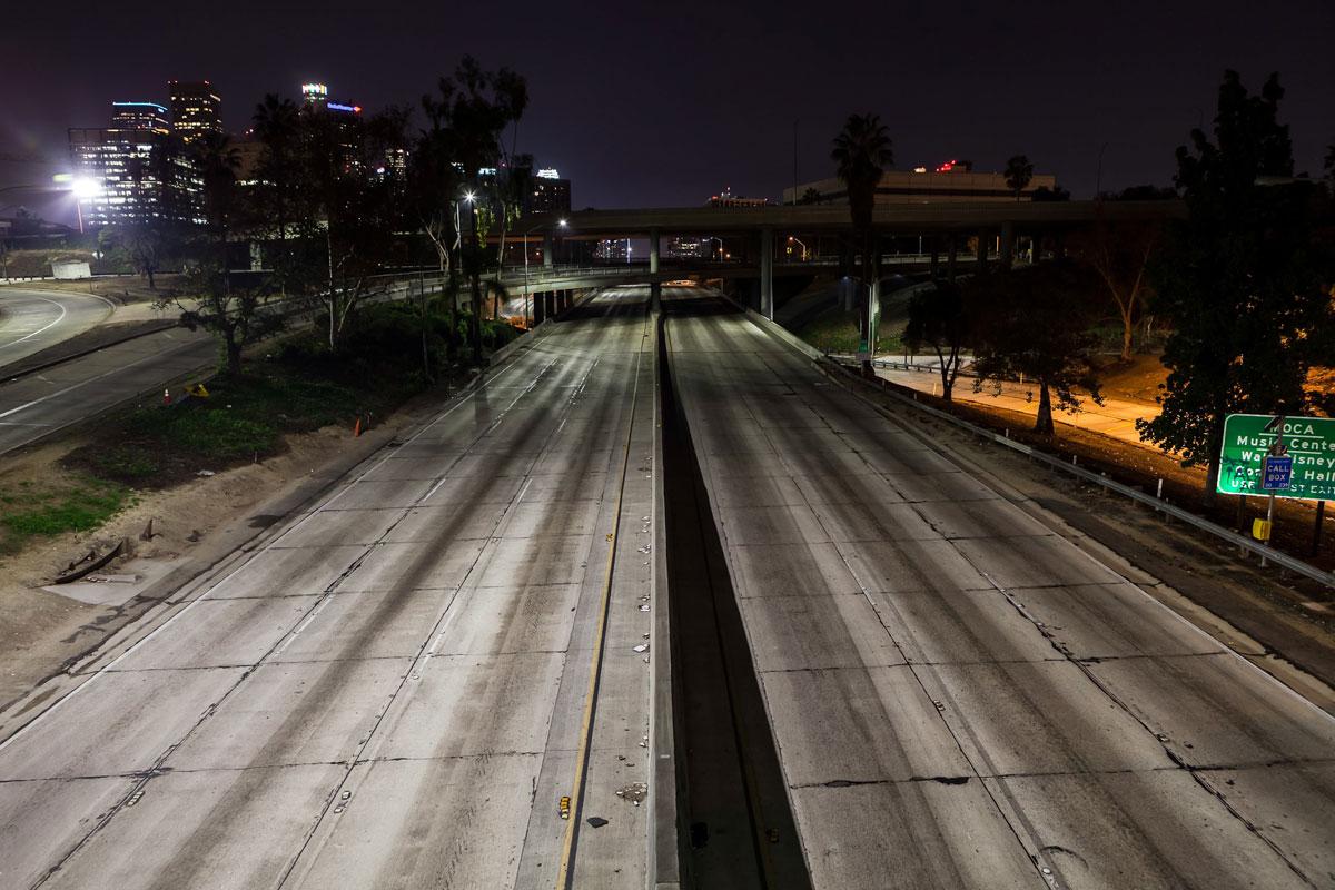 фотографии ночного Лос_Анджелеса-2