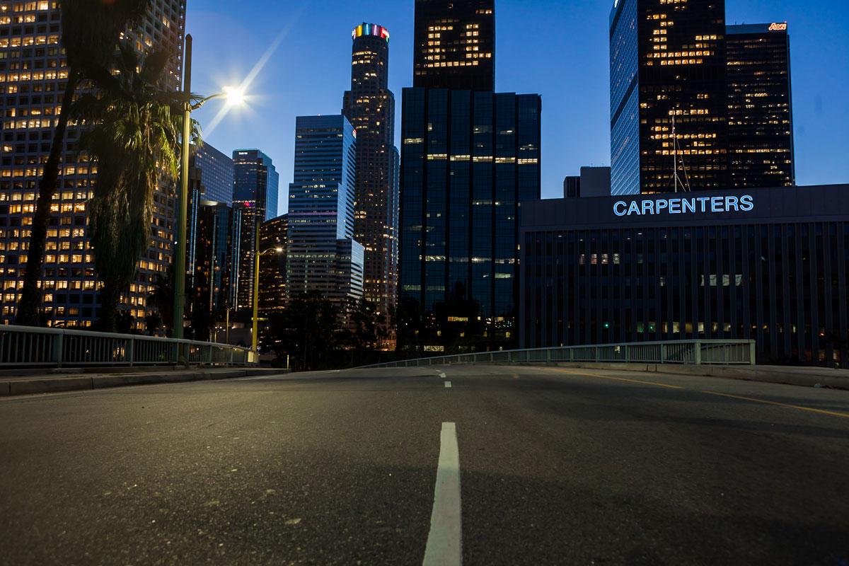 фотографии ночного Лос_Анджелеса-5