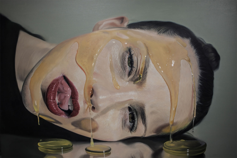 гиперреалистичность, портрет, модель, сироп, реализм, фото-4