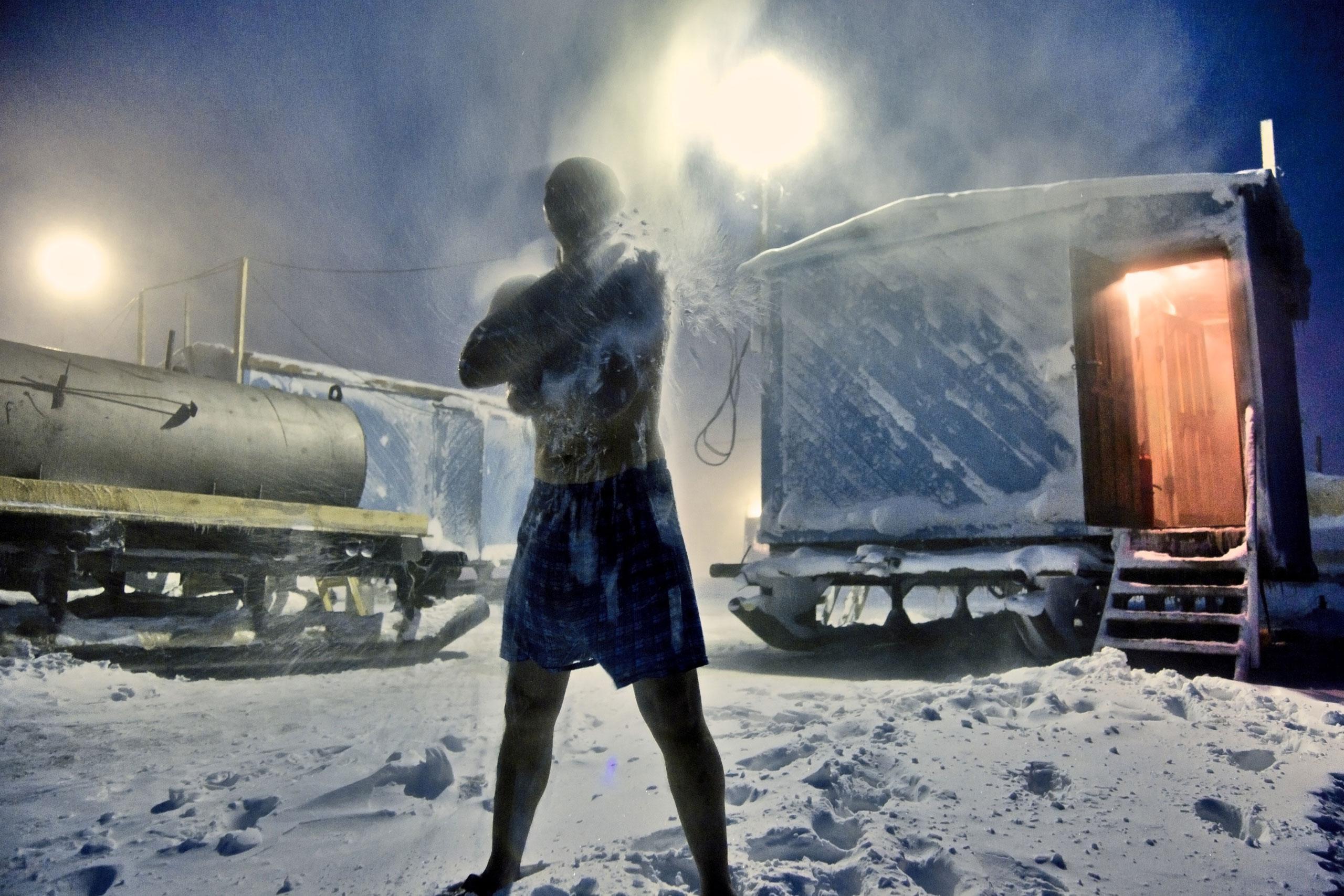 Арктика, крайний Север, нефть, полярный круг, Воркута-11