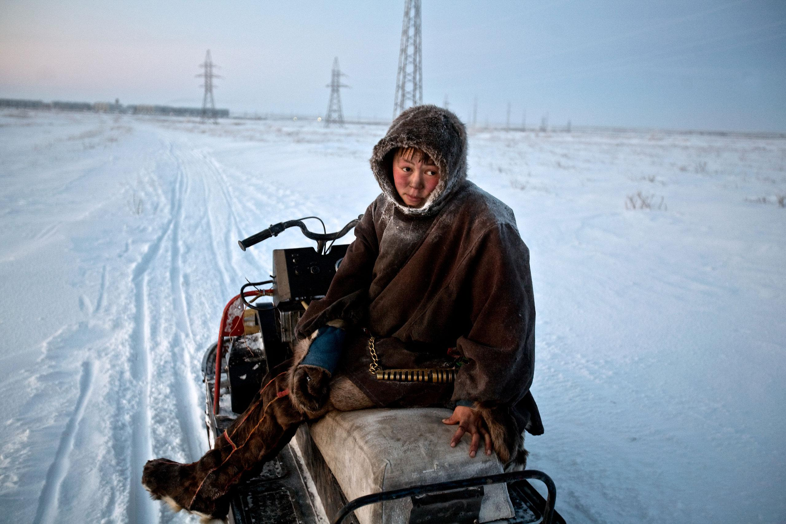 Арктика, крайний Север, нефть, полярный круг, Воркута-4