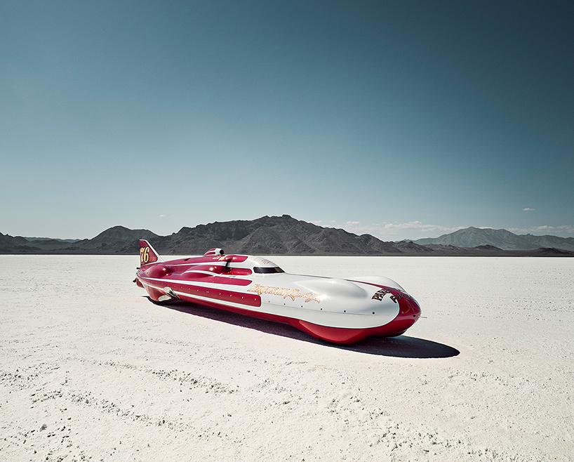 Бонневилль, гонки в пустыне-1