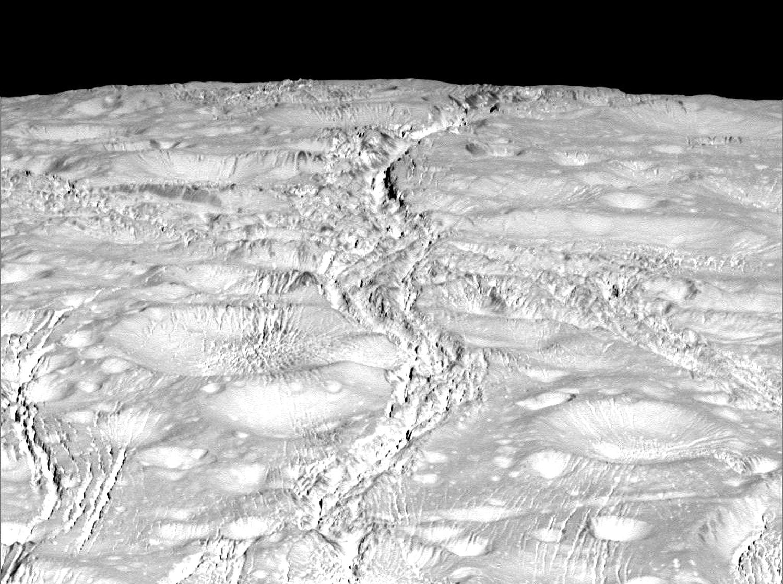 Энцелад, ледяной спутник Сатурна-16