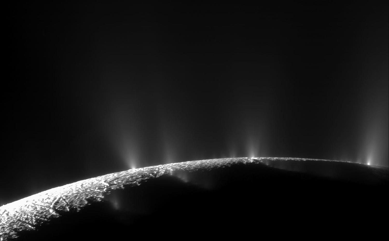 Энцелад, ледяной спутник Сатурна-18
