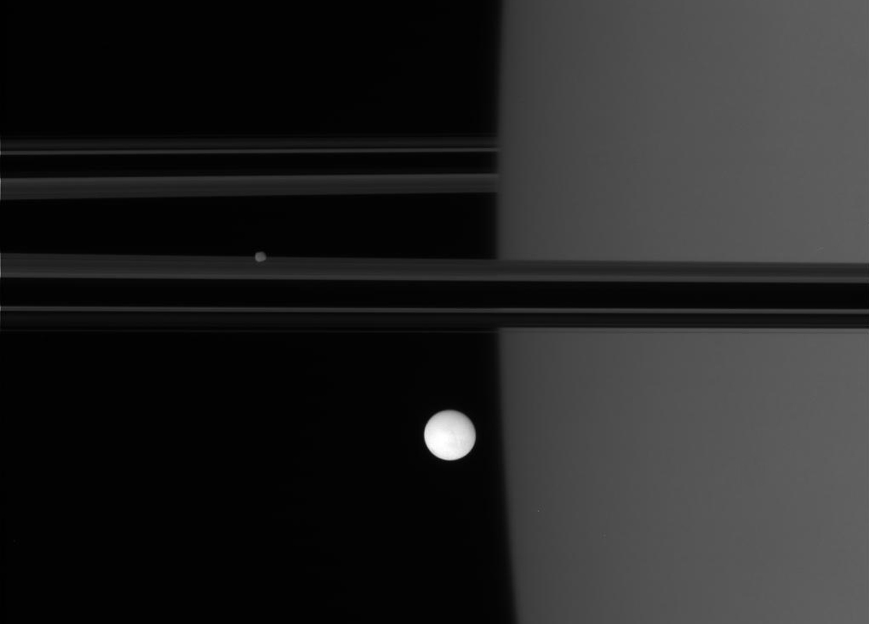 Энцелад, ледяной спутник Сатурна-19