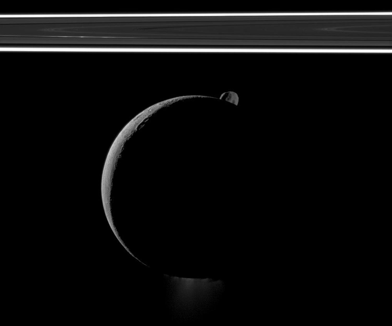 Энцелад, ледяной спутник Сатурна-21
