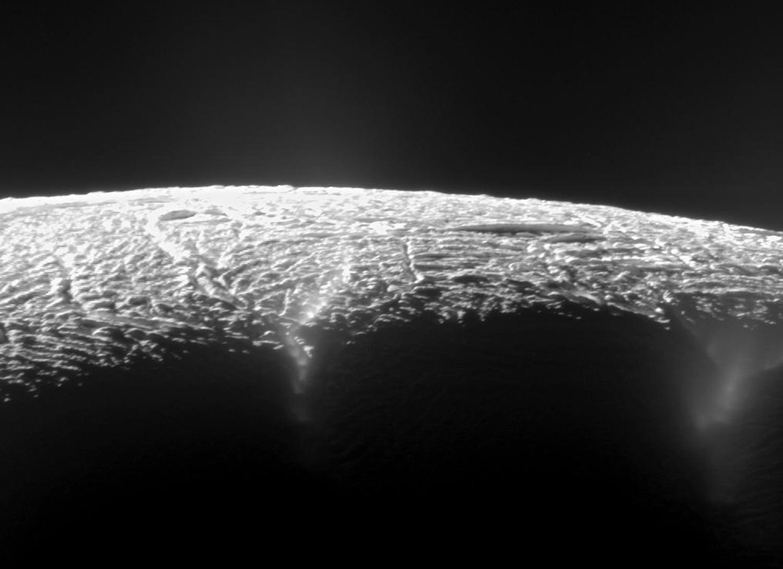Энцелад, ледяной спутник Сатурна-22