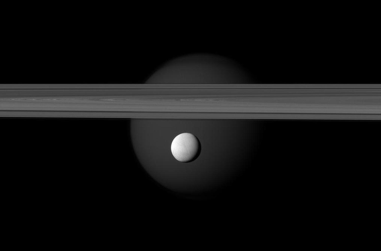 Энцелад, ледяной спутник Сатурна-6