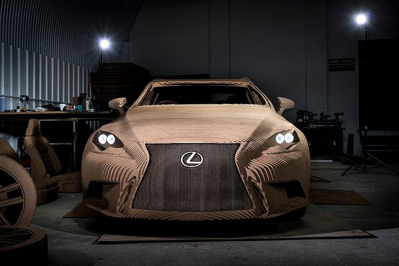 Лексус из картона, Lexus IS3