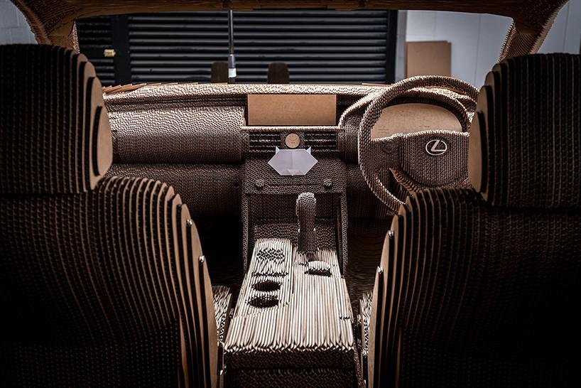 Лексус из картона, Lexus IS8