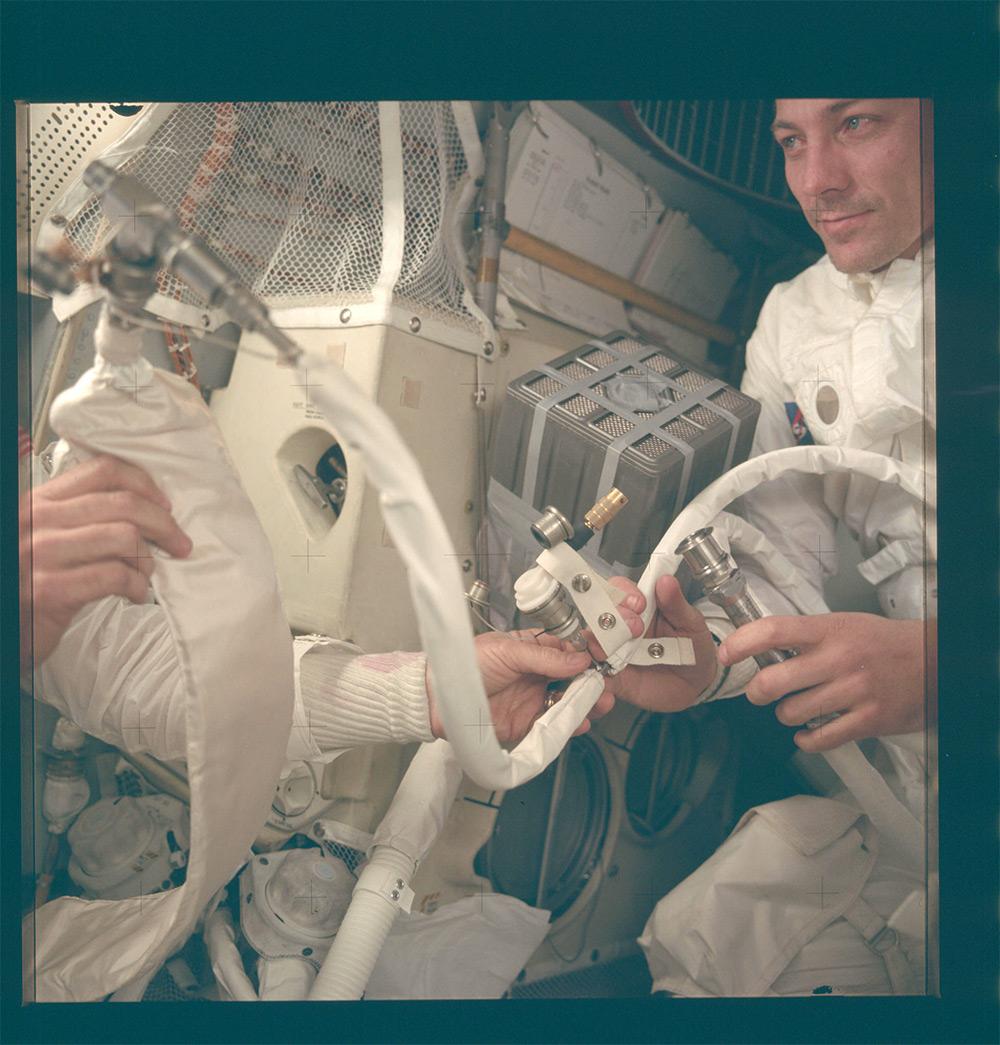 НАСА, Аполлон, лунная миссия, редкие фотографии-1