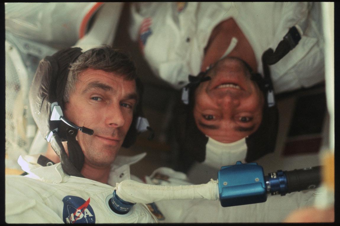 НАСА, Аполлон, лунная миссия, редкие фотографии-10
