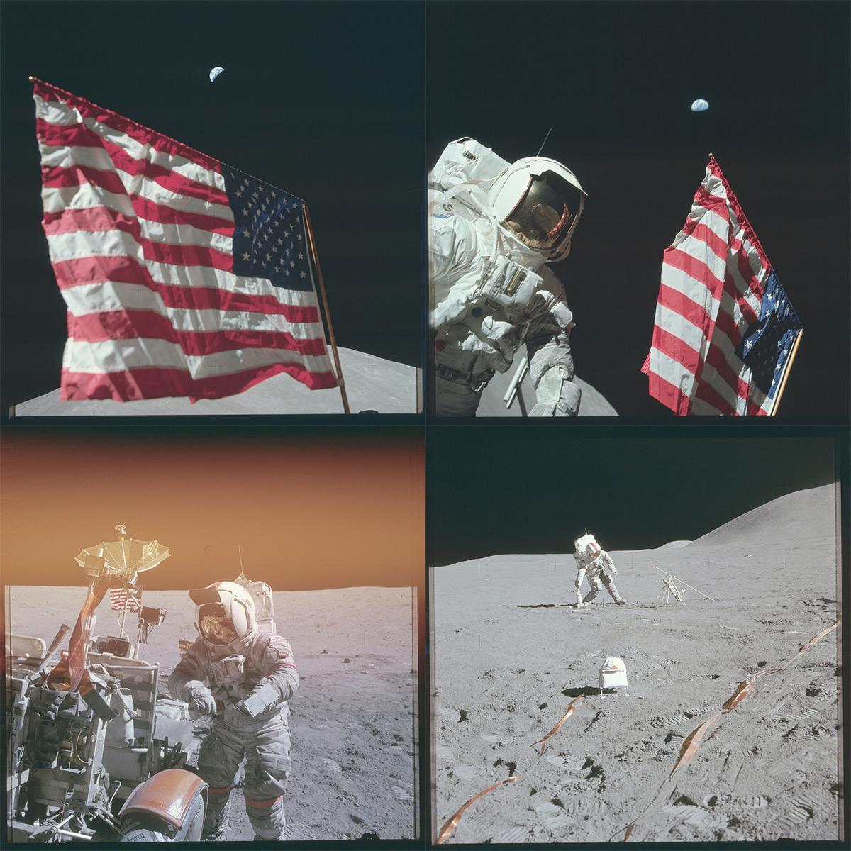 НАСА, Аполлон, лунная миссия, редкие фотографии-11