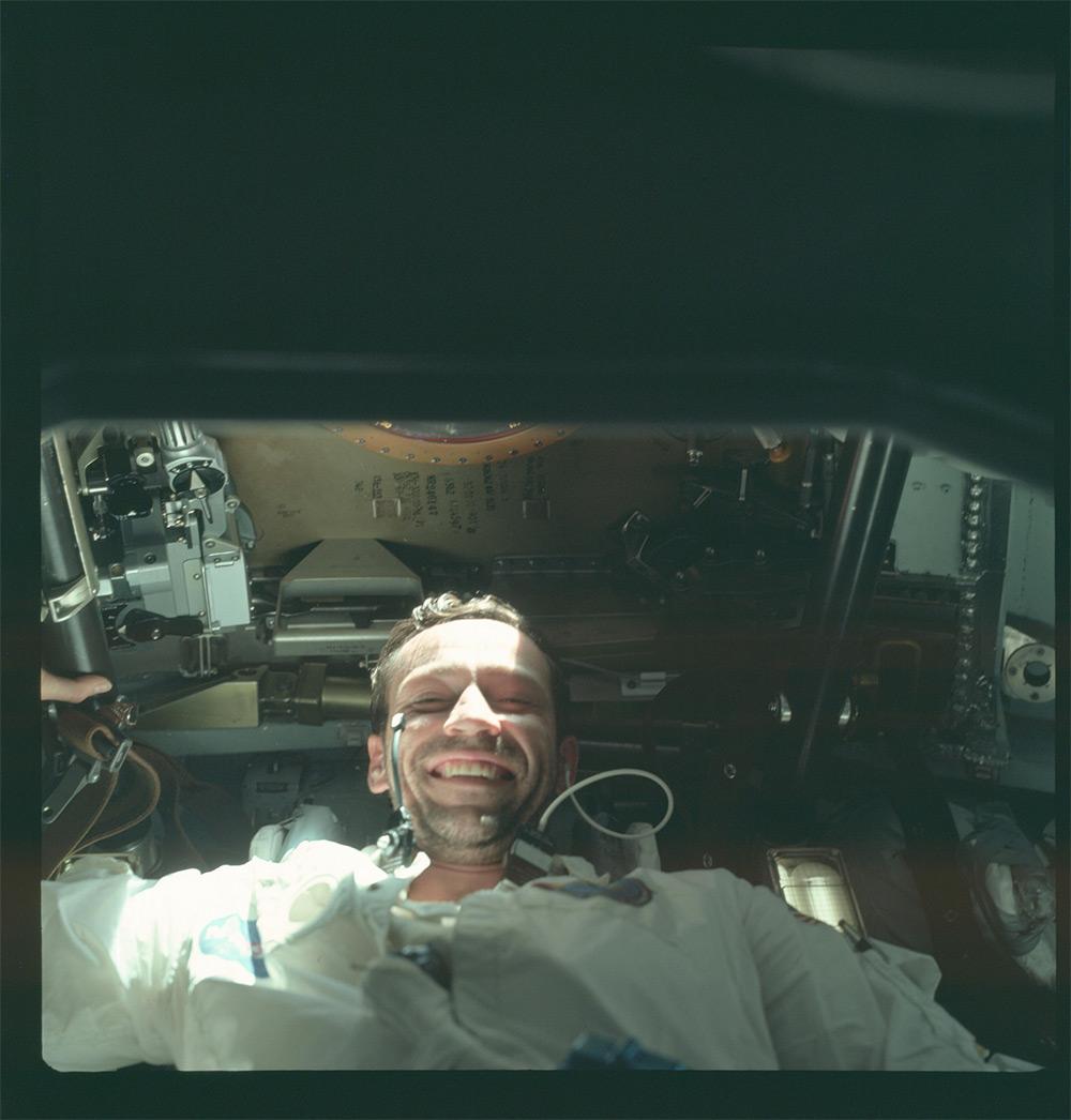 НАСА, Аполлон, лунная миссия, редкие фотографии-12