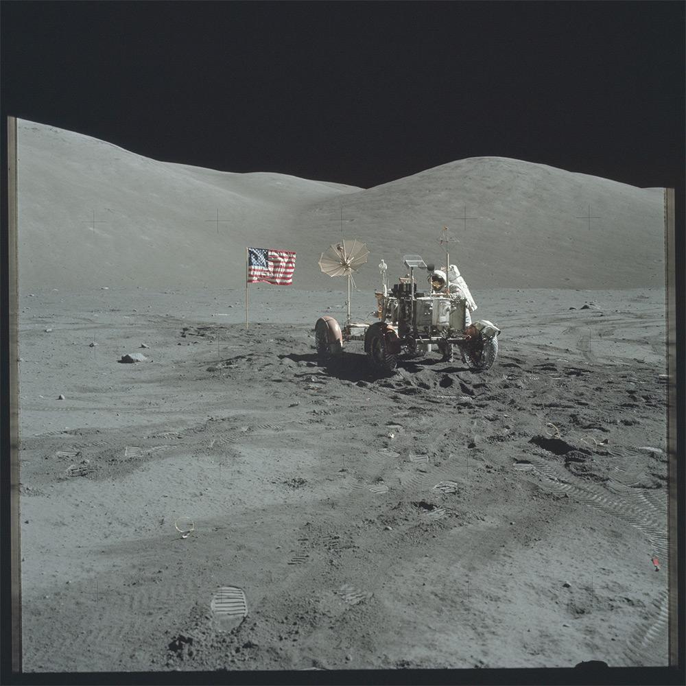 НАСА, Аполлон, лунная миссия, редкие фотографии-14