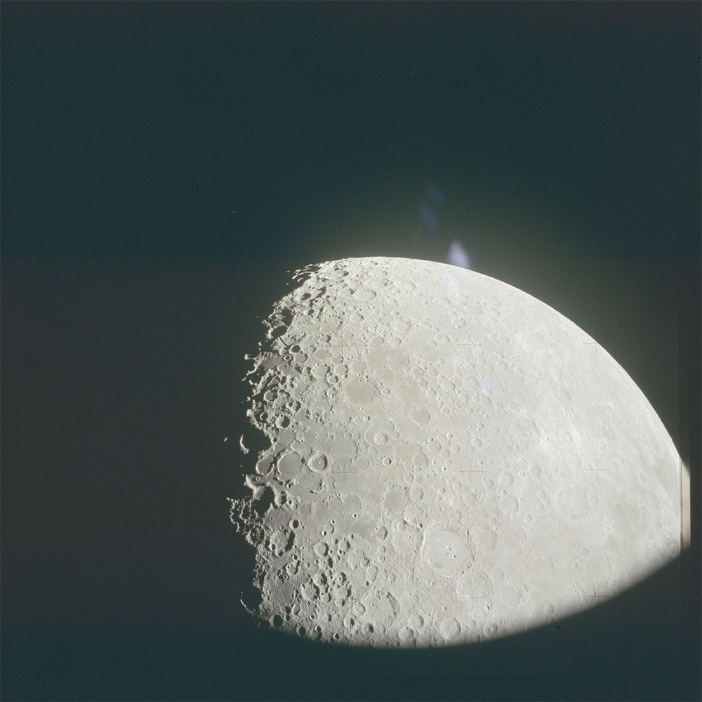 НАСА, Аполлон, лунная миссия, редкие фотографии-2