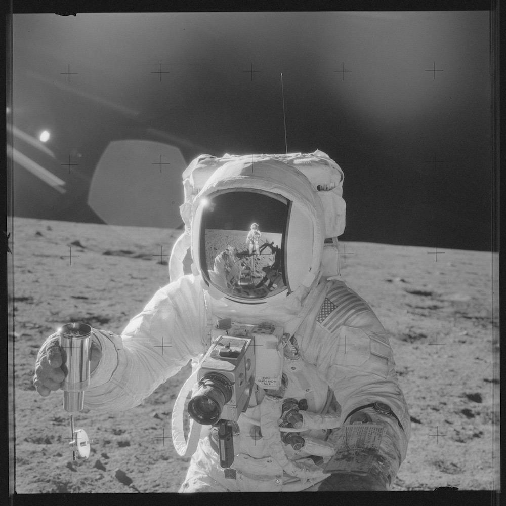 НАСА, Аполлон, лунная миссия, редкие фотографии-3