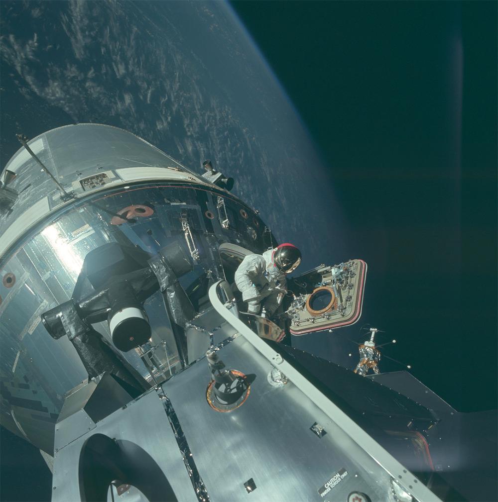 НАСА, Аполлон, лунная миссия, редкие фотографии-4