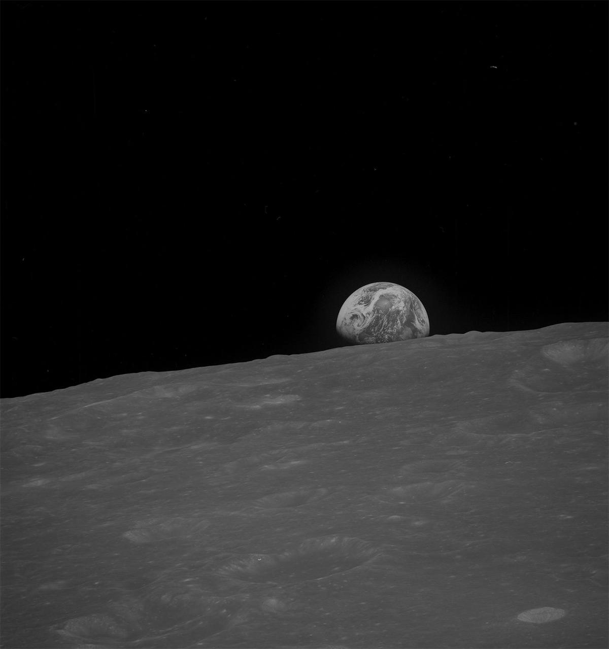 НАСА, Аполлон, лунная миссия, редкие фотографии-9