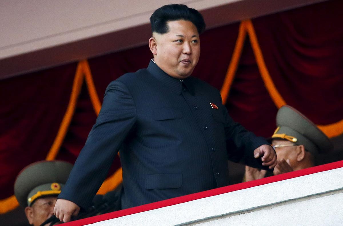 Биг БОСС Ким Чен Ын. Наконец-то, снизошел!