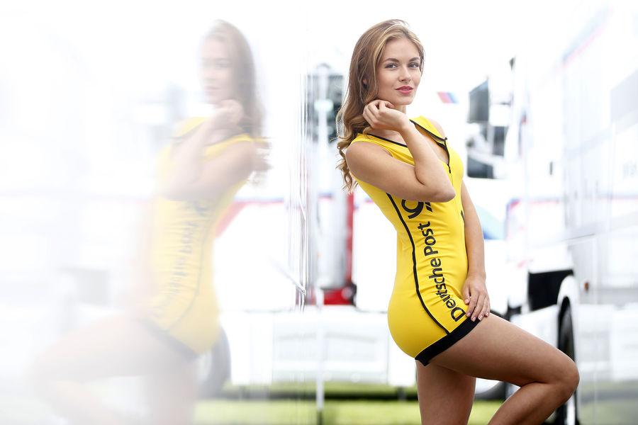 девушки с гонок DTM, сезон 2015 года, автоспорт-22