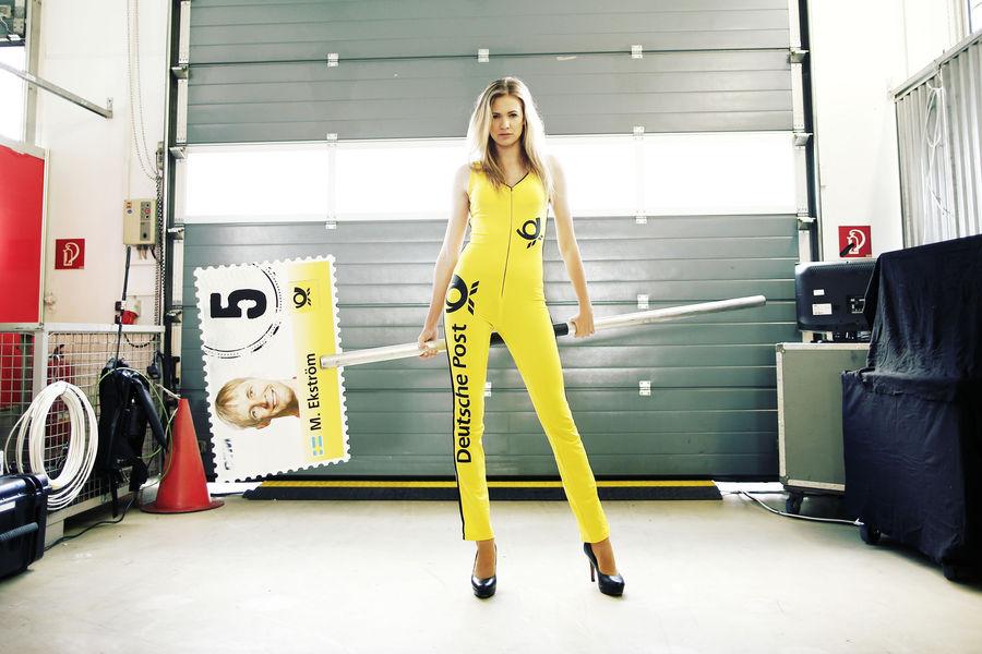 девушки с гонок DTM, сезон 2015 года, автоспорт-3