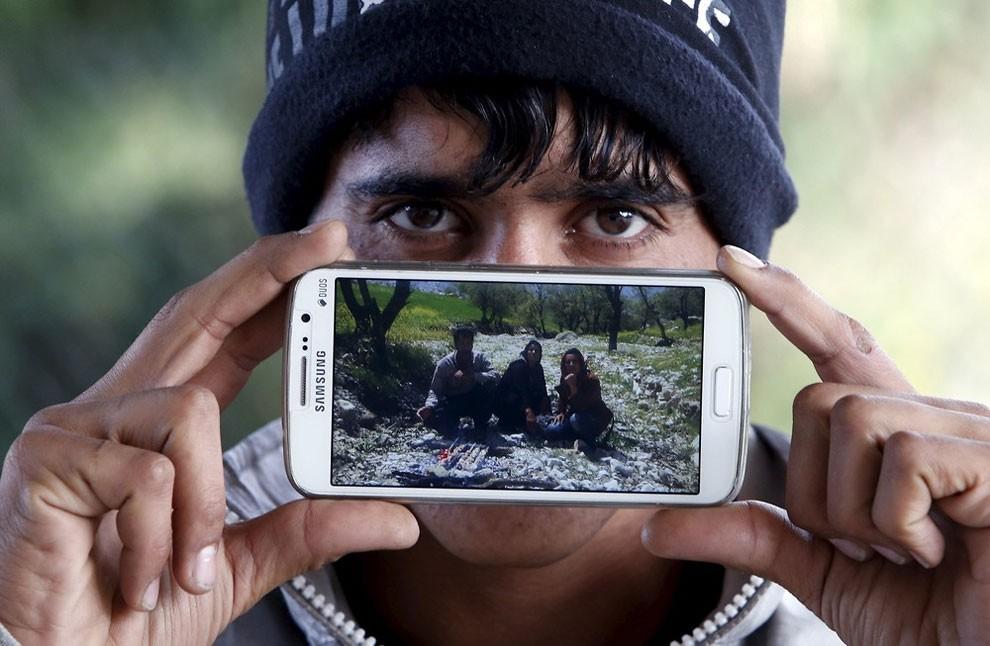 фотографии беженцев из Сирии, Ирака, Афганистана-2