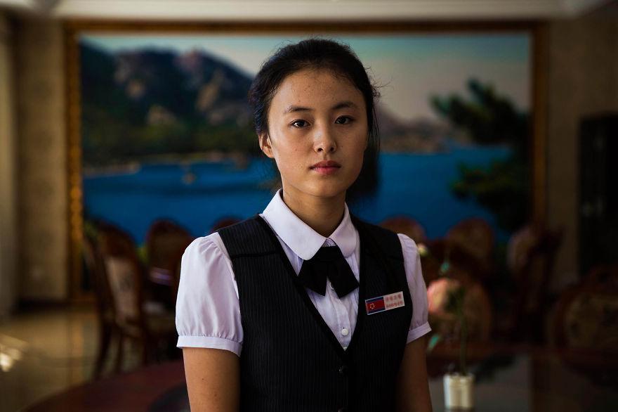 фотографии девушек на улицах Северной Кореи-19
