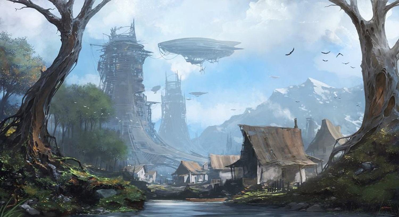 футуристические пейзажи-9