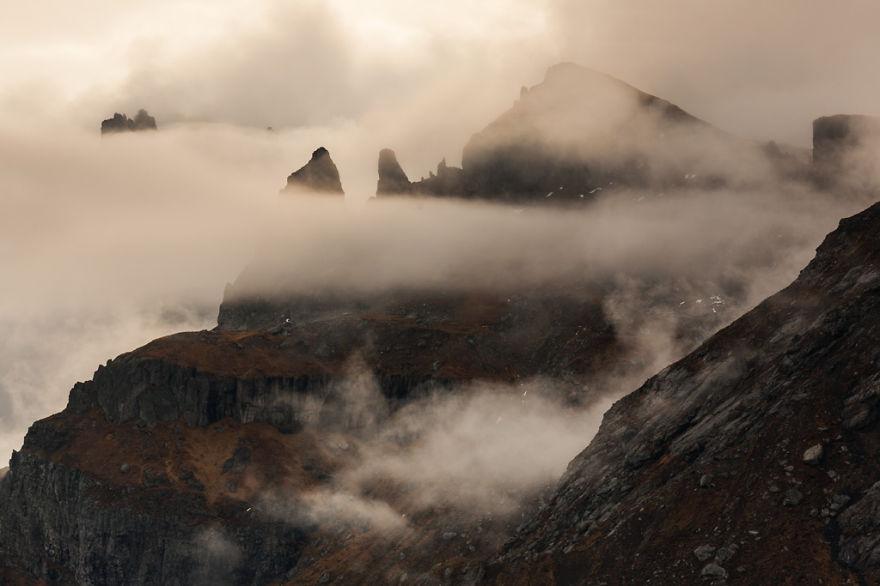 горы Доломиты в Италии, фотография, пейзаж, осень-10
