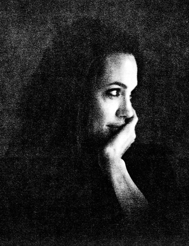 интимные снимки Анджелины Джоли, голая Джоли, личные фото-14