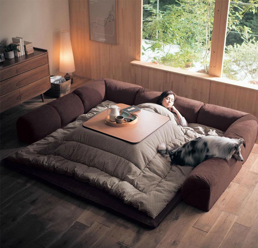 котацу, японское одеяло с источником тепла-1