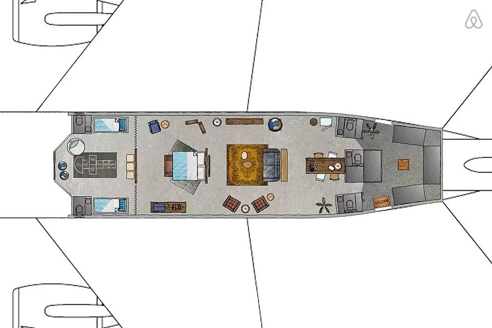 квартира внутри самолета-8