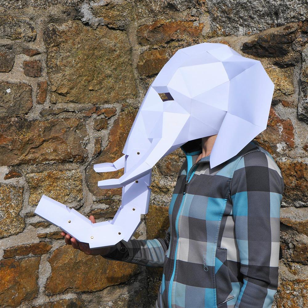 маски для Хэллоуина, маски своими руками-10
