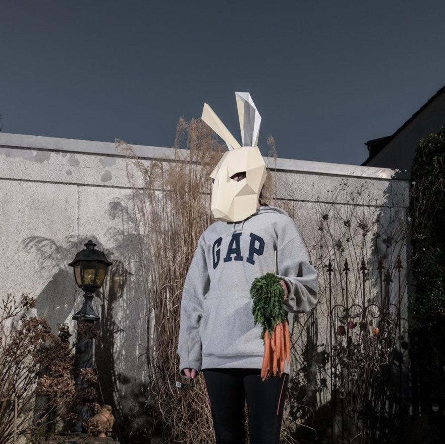 маски для Хэллоуина, маски своими руками-5