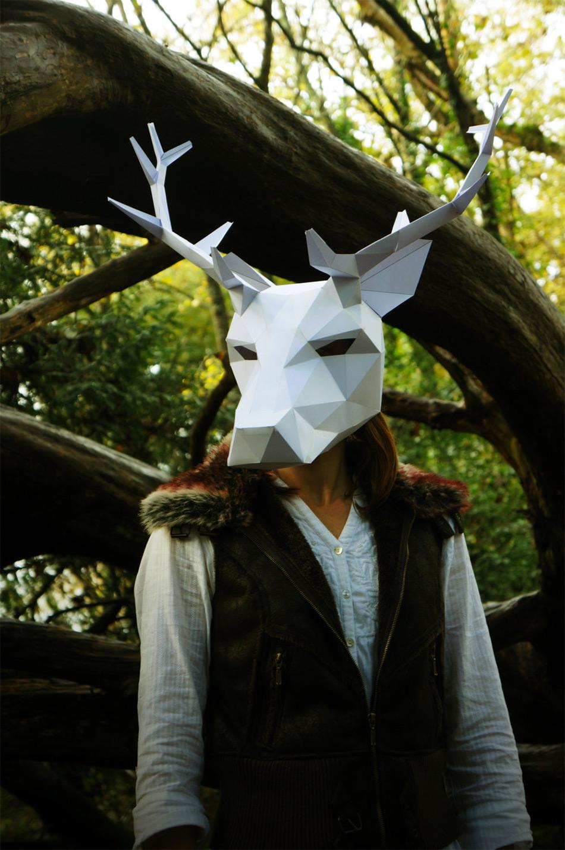 маски для Хэллоуина, маски своими руками-8