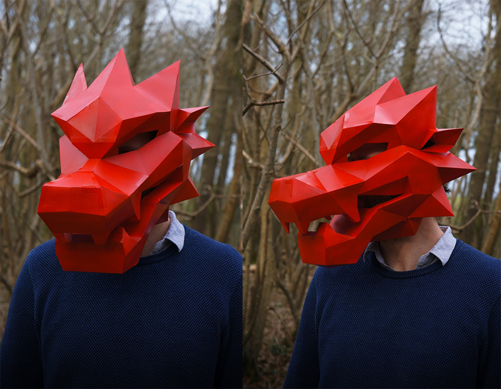 маски для Хэллоуина, маски своими руками-9