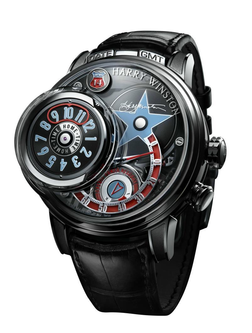 мужские наручные часы Harry Winston Opus 14-3