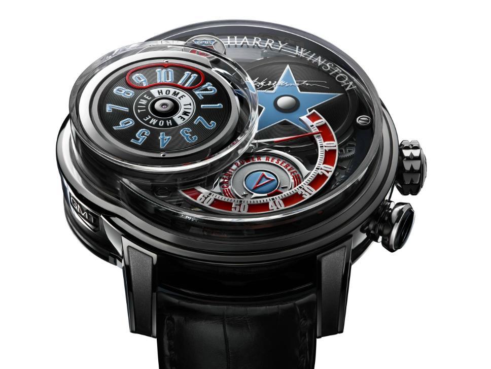 мужские наручные часы Harry Winston Opus 14-6