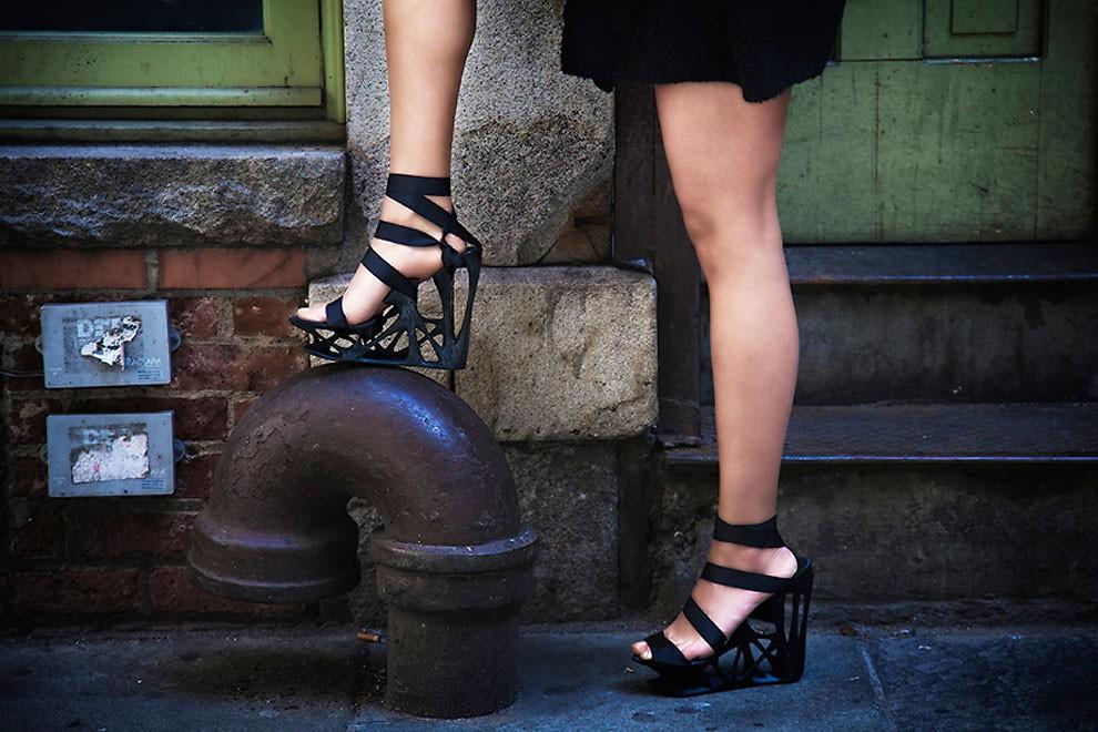 обувь напечатанная на 3D принтере-3