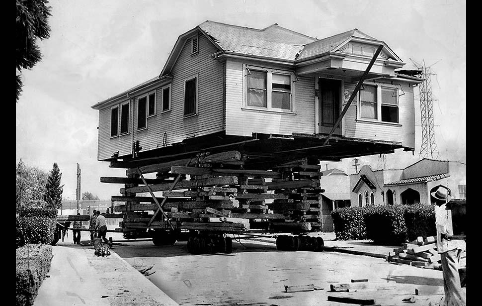 перевозка и перемещение домов в США-1