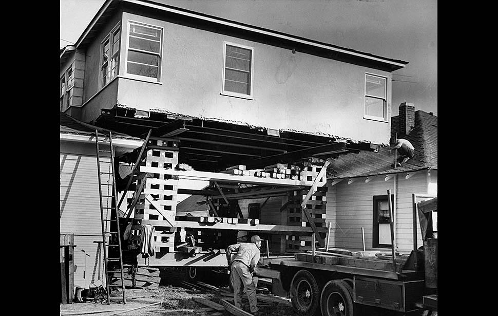 перевозка и перемещение домов в США-2