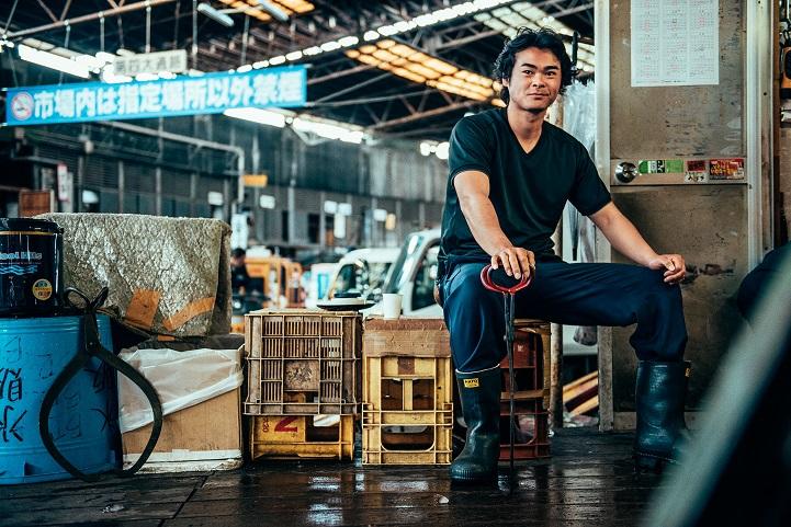 рыбный рынок в Японии-1