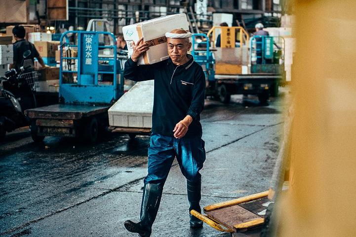 рыбный рынок в Японии-3