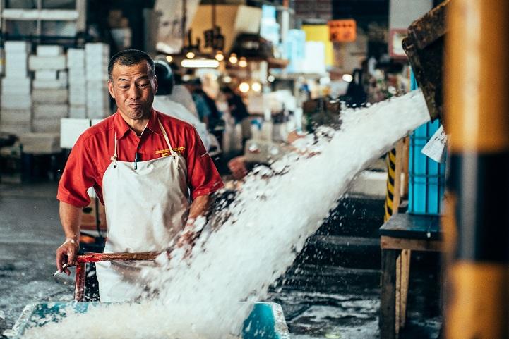 рыбный рынок в Японии-4